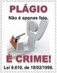 PLÁGIO É CRIME !
