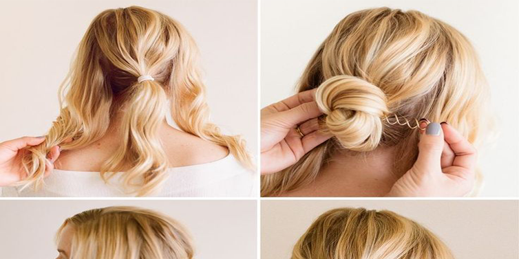 Amazing Bun Hairstyle Tutorial For Parties Tickfashion Hairstyle Inspiration Daily Dogsangcom