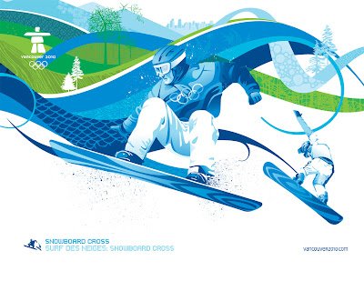 Free Vancouver 2010 Olympic Winter Games PowerPoint Background 15