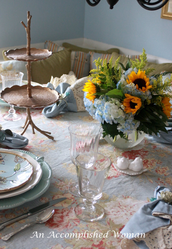an accomplished woman spring kitchen table. Black Bedroom Furniture Sets. Home Design Ideas