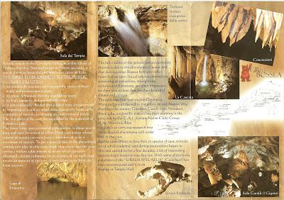 Grotta di Bossea Brochure 2