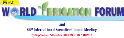 First World Irrigation Forum