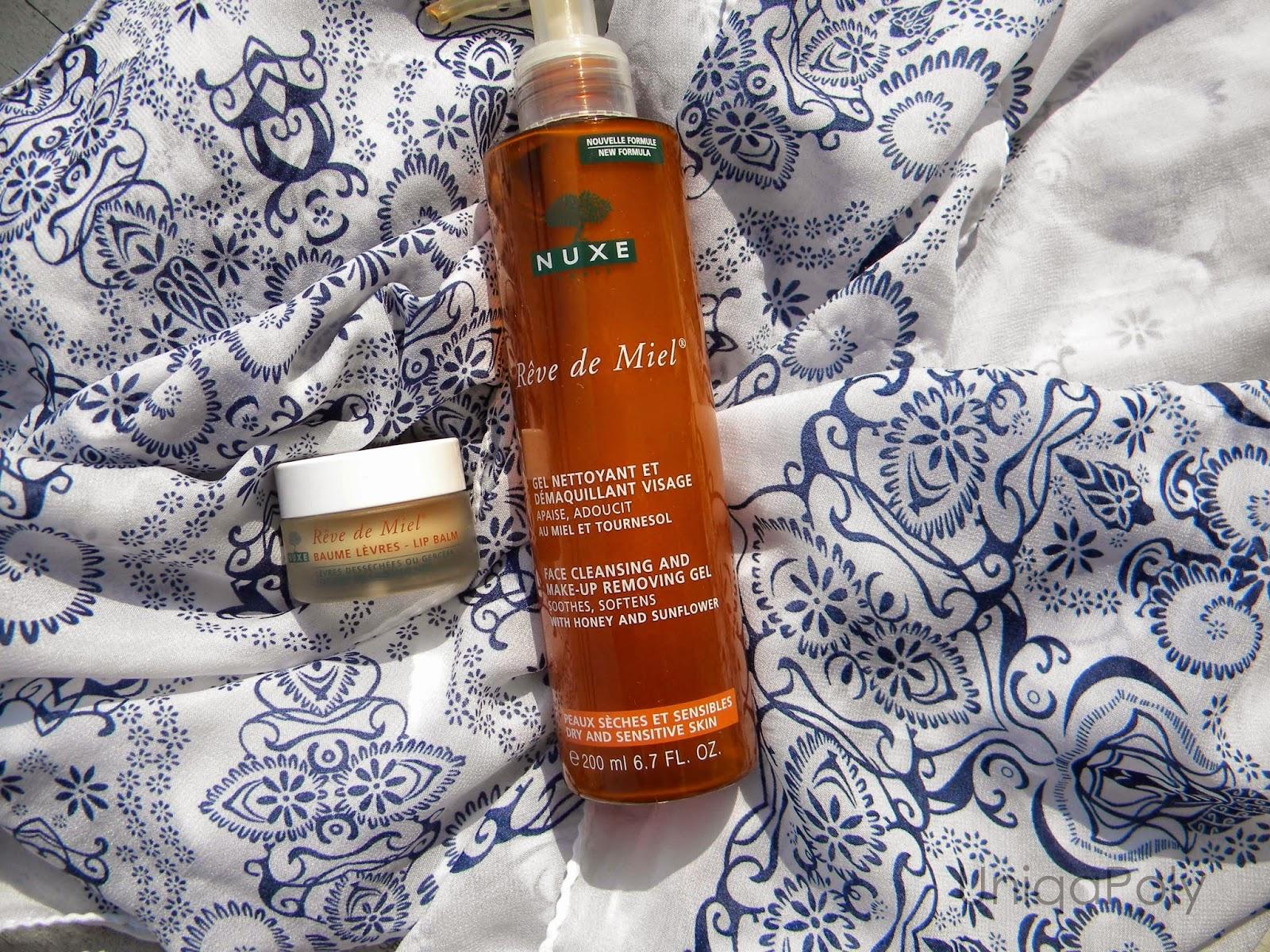 Love put Miel facial cleansing gel not
