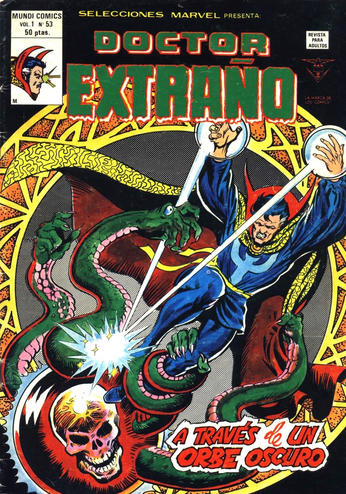 Portada Selecciones Marvel Volumen 1 Nº 53 Ediciones Vértice