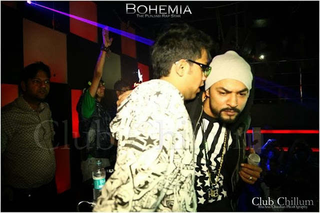 BOHEMIA THE PUNJABI RAP STAR - LIVE CLUB CHILLUM 5