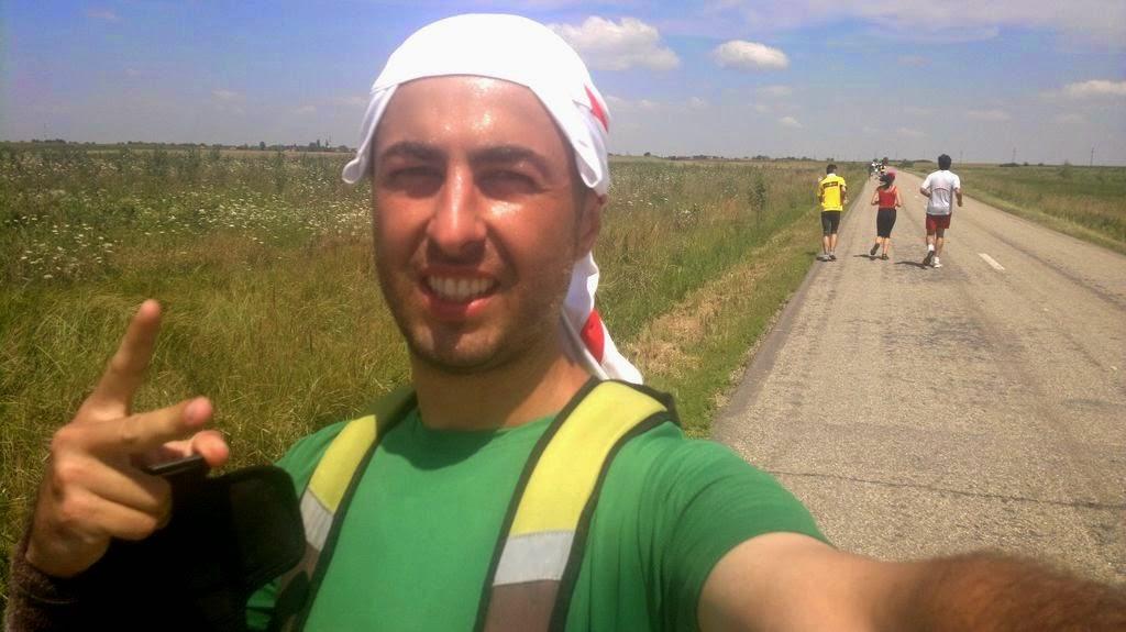 Natură şi căldură pe traseul Foeni - Cruceni - Grăniceri şi retur. Judeţul Timiş. Florin Chindea pe vreme însorită