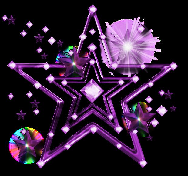 forgetmenot purple stars