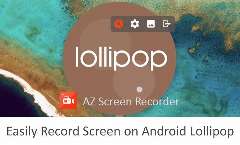 AZ Screen Recorder v2.1 APK Unlocked NO ROOT