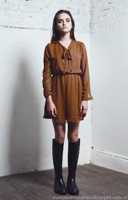 Vestidos invierno 2013 Drole