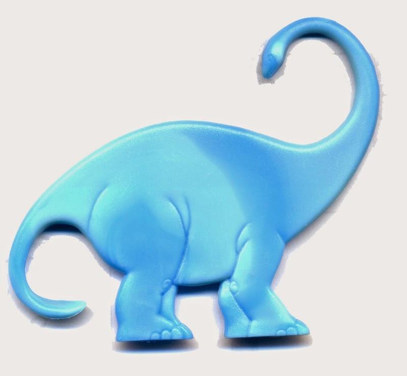 Plastic dino toy