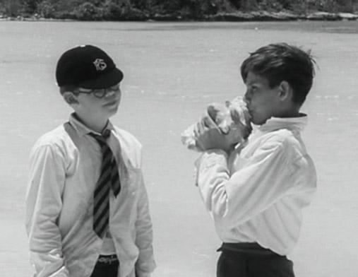 loft the conch Ralph uses a conch to call the other boys who are on the island, who all gather on the beach ralph is elected as leader lord of the flies movie: 1990.
