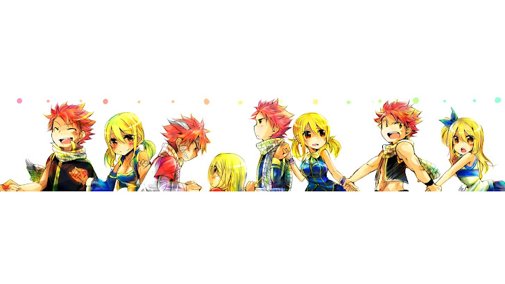 Cute Natsu and Lucy