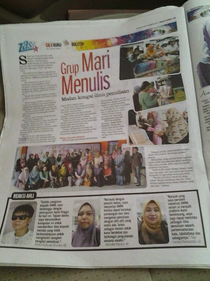 Liputan Akhbar Lawatan GMM ke GBK @ 25 September 2014