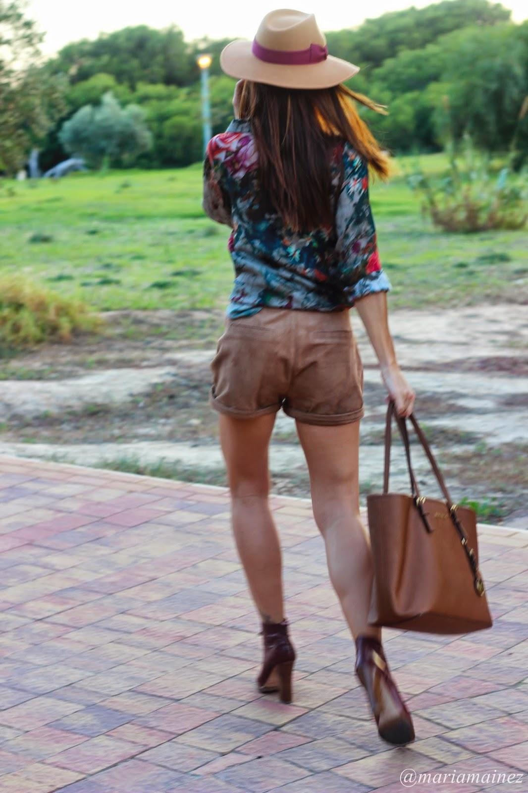 Sombrero Jamir - Etxart&Panno - Michael Kors - Outfit 2014 - Baltarini shoes - blogger alicante