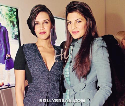 , Jacqueline Fernandez, Neha Dhupia Real Life Pics From An Event