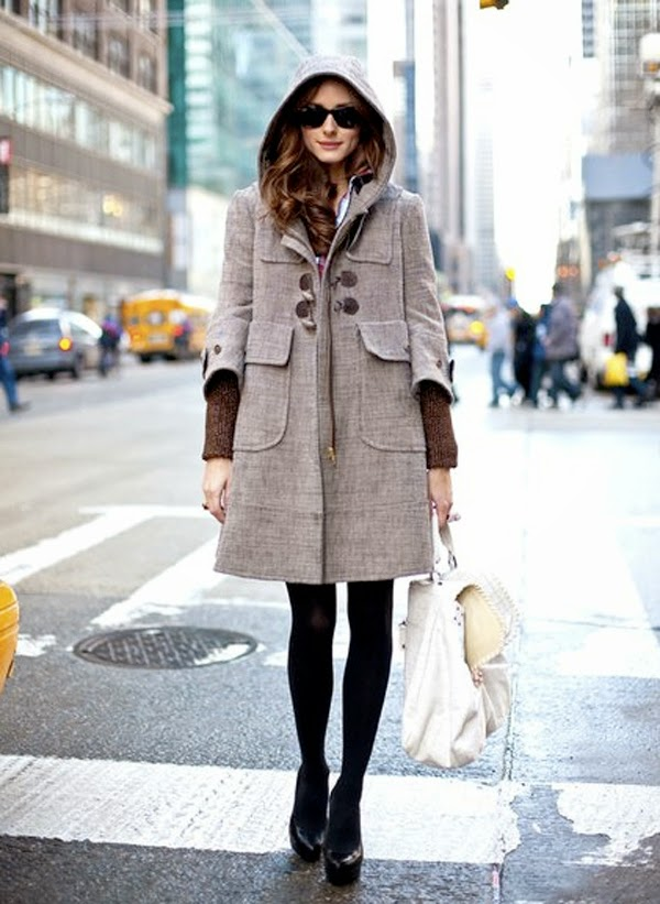 Olvia Palermo style montgomery coat, Fashion and Cookies, fashion blogger