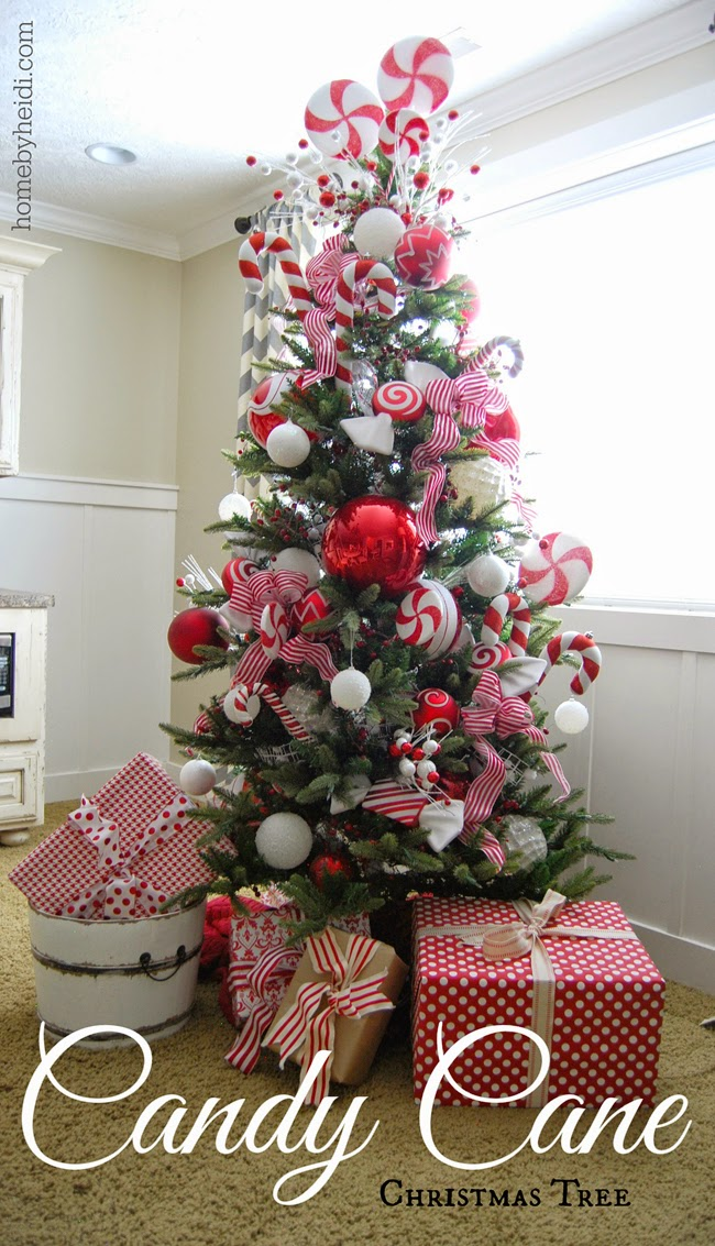 candy cane christmas tree - Candy Cane Christmas Tree