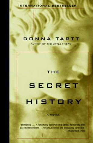Best Bibliomystery Books List The Secret History by Donna Tartt