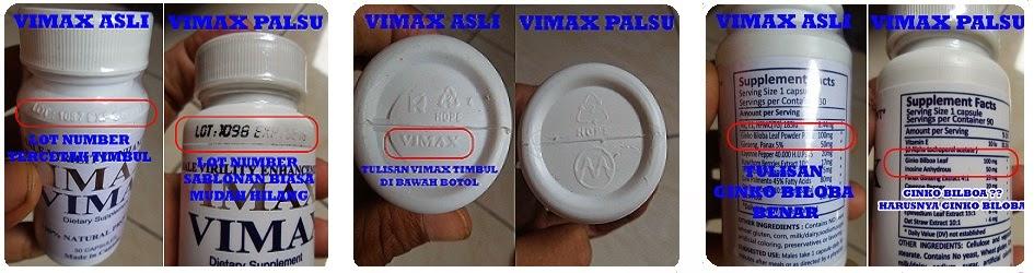 VIMAX ASLI ORIGINAL CANADA 3 BONUS 1 padeglang 2