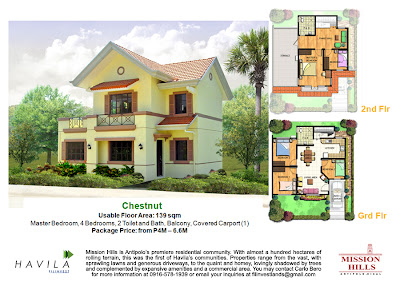 Mission Hills Antipolo | House Model Chestnut