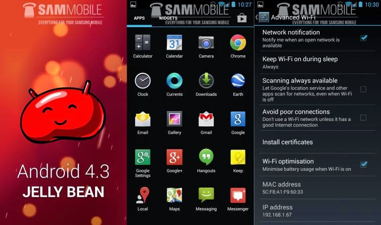 SupremeBean ROM for Samsung Note 2 Android 4.3 Kit Kat