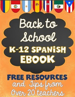 Back to School K-12 Spanish ebook freebies