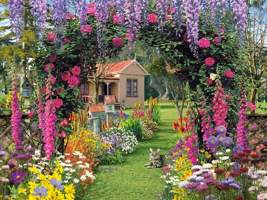 English garden wallpaper Downloade | Pic Gallery
