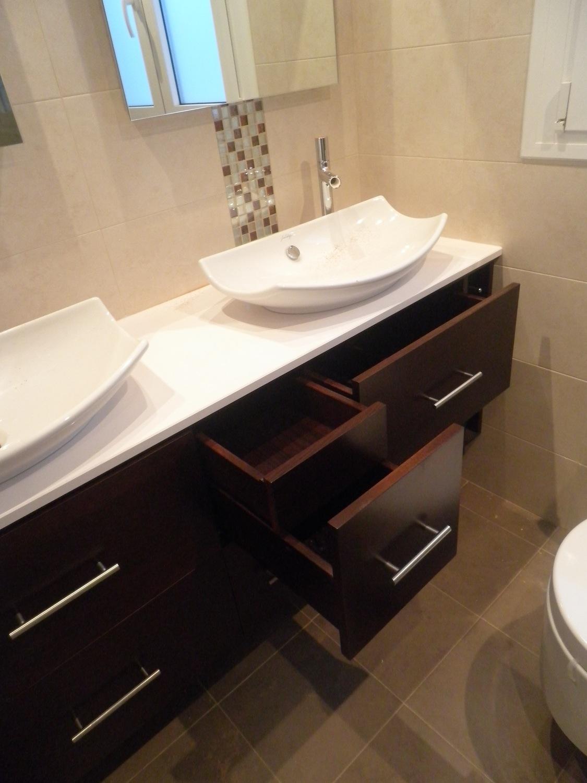 Mueble bajo lavabos colgado muebles cansado zaragoza for Muebles para debajo del lavabo