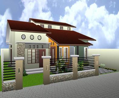 rumah modern minimalis on Rumah Minimalis Modern 2011