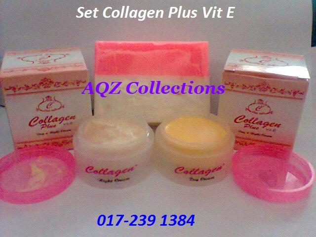 krim collagen plus vit e original