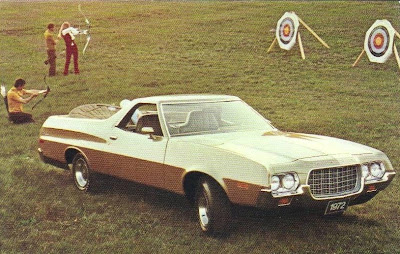 1972 Ford Ranchero pickup car