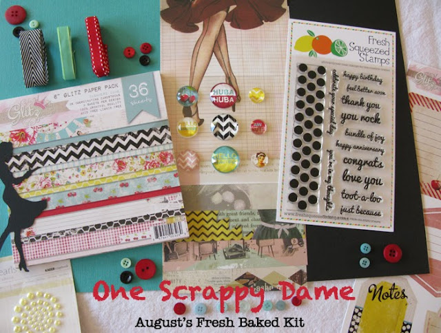 Paper Made Bakery August's Fresh Baked Kit Release Day and Blog Hop