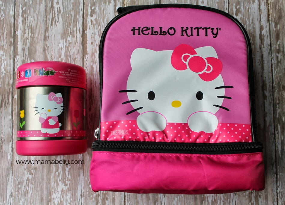 Thermos send us this adorable Hello Kitty FUNtainer Food Jar and Hello Kitty  Dual Compartment Lunch kit. Did I mention how adorable the set it  73b8b53a29