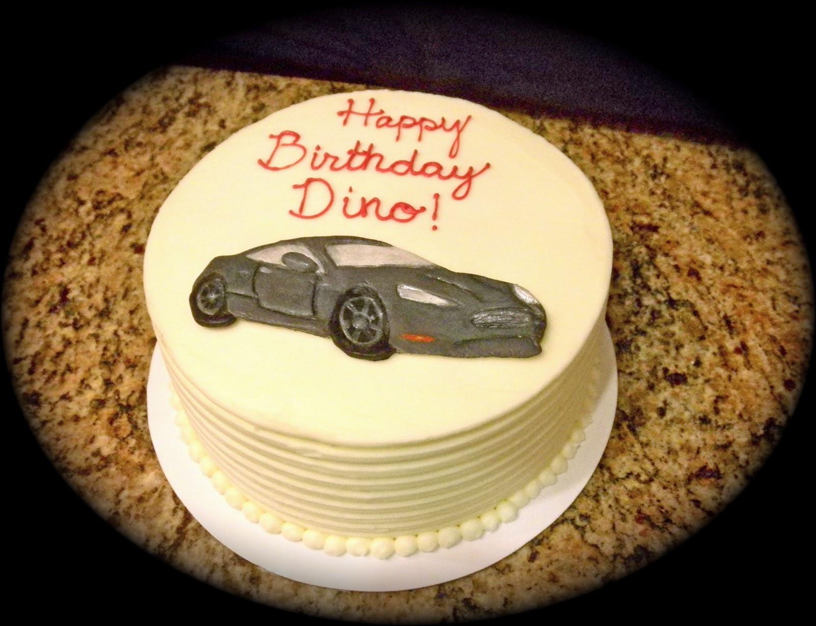 Sweet Ts Cake Design Aston Martin Birthday Cake