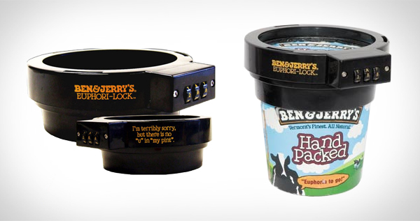 Ben & Jerry's Euphori Pint Lock