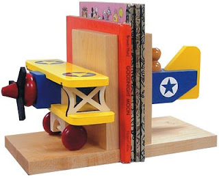 Bi-Plane Bookends
