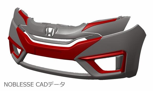 Honda Jazz/Fit 2014 ชุดแต่งทรง Noblesse