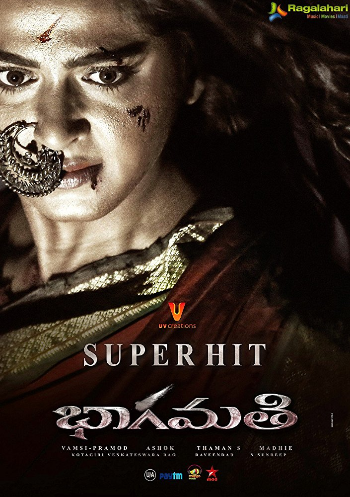 Bhaagamathie 2018 Hindi Dubbed 720p HDTVRip 1GB Download