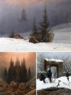 Немецкий живописец пейзажист Каспар Давид Фридрих