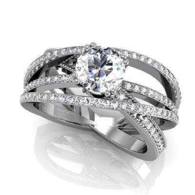 Womens Diamond Ring Guards