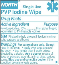 Contaminated Povidone-Iodine Wipes UPDATE
