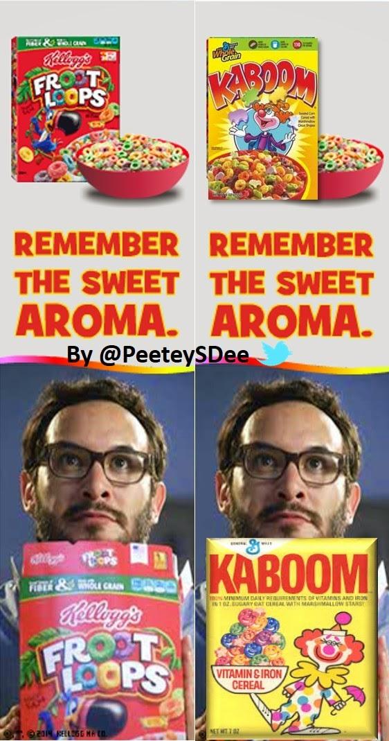 #PajamaBoy Eats #FruitLoops