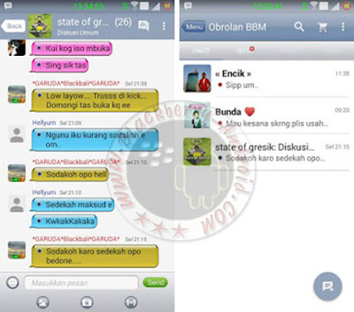 BBM Mod IOS 6 Themes New Versi 2.11.0.16 Apk