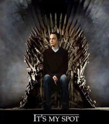 sheldon cooper game of thrones memes