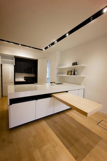 Hogares frescos 12 mostradores de cocinas con estilo que - Mostradores de cocina ...