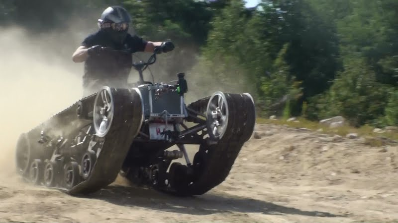 """Just A Car Guy: I'm impressed, this """"Mini Ripsaw"""" looks ..."""