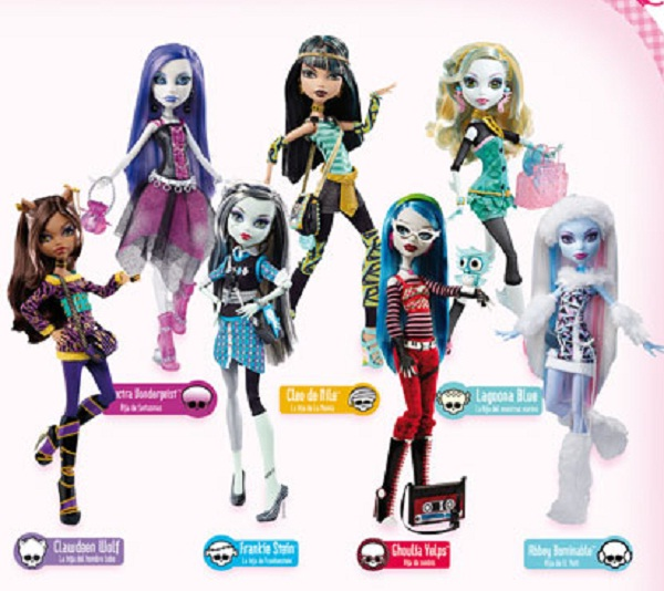Monster High: Tortas por una Monster High