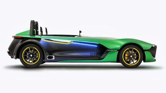 Caterham Aeroseven Concept Car side
