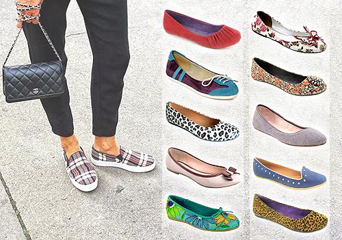 Jenis Sepatu Wanita Flat
