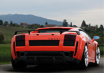Amari Design Lamborghini Gallardo Invidia Concept Seen On www.coolpicturegallery.us